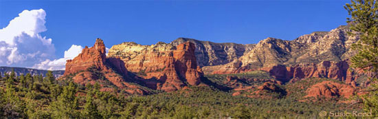 """Sphinx Rock Look Out"" • Sedona, AZ Landscape Photograph by Susie Reed"